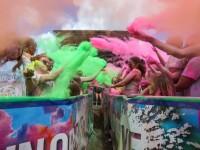 1,500 take part in Run or Dye event near Nantwich