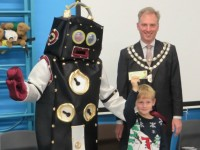 Nantwich councillors use budgets for pupils to watch Rusty Robot show