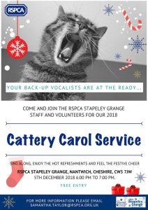 SG cattery carol service