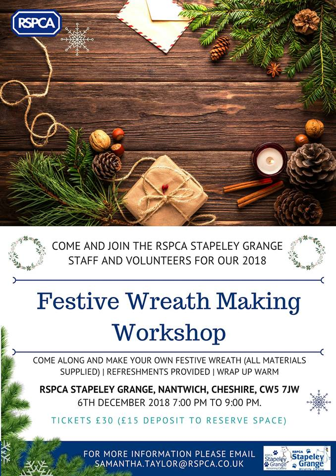 SG wreath workshop