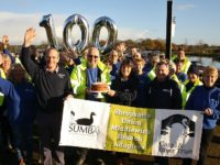 Canal volunteers in Nantwich celebrate 100th work party