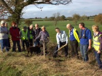 """Canal volunteers adopt five-mile stretch for """"Towpath Gardens"""" project"""