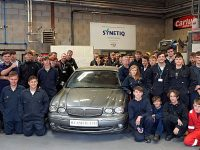 Motor students in Nantwich boosted by SYNETIQ vehicle donation