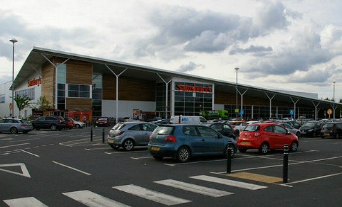 Sainsbury S Car Park Beeston