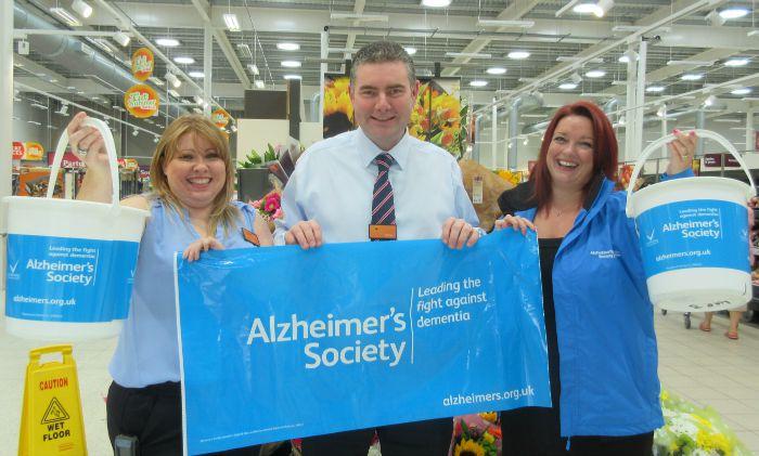Sainsbury's Nantwich to raise for Alzheimer's Society