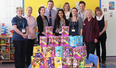 Big-hearted Nantwich residents donate Easter eggs to children
