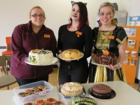 Sainsbury's staff stage Halloween bake off for charity