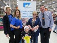 Sainsbury's Nantwich bag pack raises £1,300 for Wingate Centre