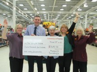 Wingate Centre's £12k boost from Sainsbury's Nantwich