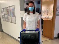 Nantwich volunteer helps Christies patients during pandemic