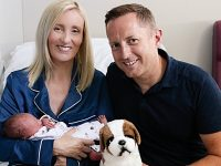 Nantwich couple's new-born son is NHS first for Leighton Hospital