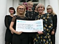 Salon Vie team raise £3,500 for Crewe & Nantwich Cancer Research