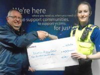Police spread festive cheer with £400 Salvation Army donation