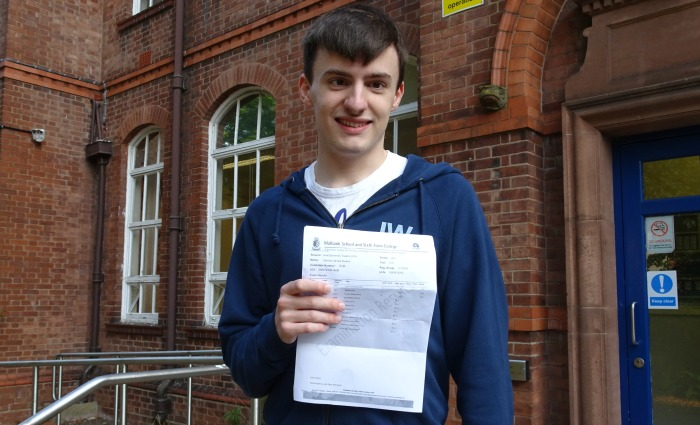 Sam Dawes with results at Malbank