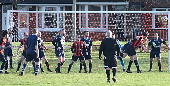 Sandbach Town miss an opportunity to equalise in the final minutes