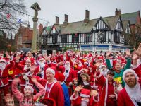 Nantwich Santa Dash to raise money for Hope House Children's Hospice
