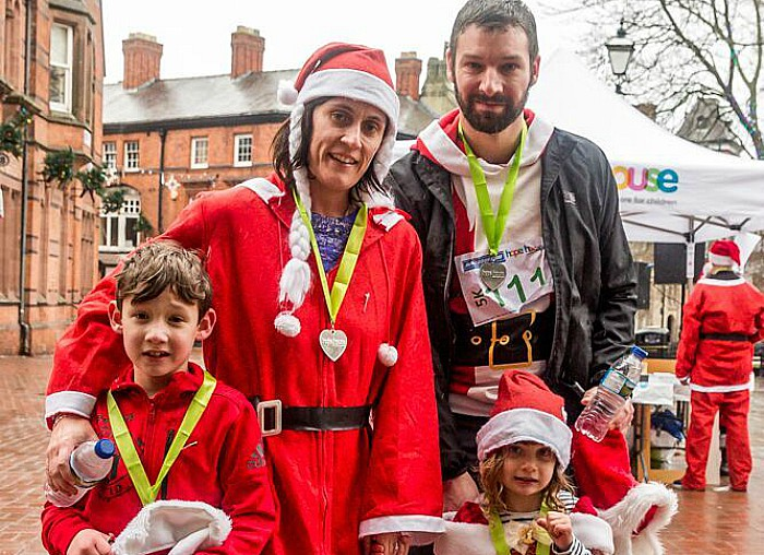 Santa Dash Nantwich, Hope House Hospice 11