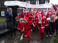 Nantwich Santa Dash on December 11 in aid of Hope House