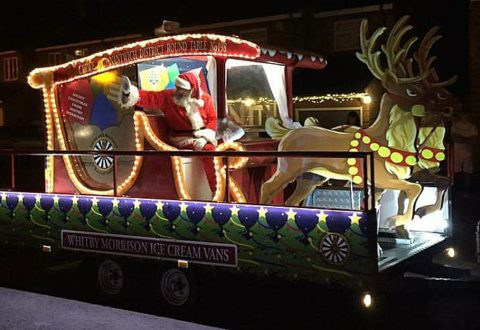 Santa's Float is on its way! Round Table unveils Crewe & Nantwich tour