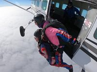 Wistaston woman skydives to raise cash for St Luke's Hospice