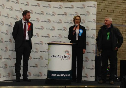 Sarah Pochin wins Willaston and Rope ward