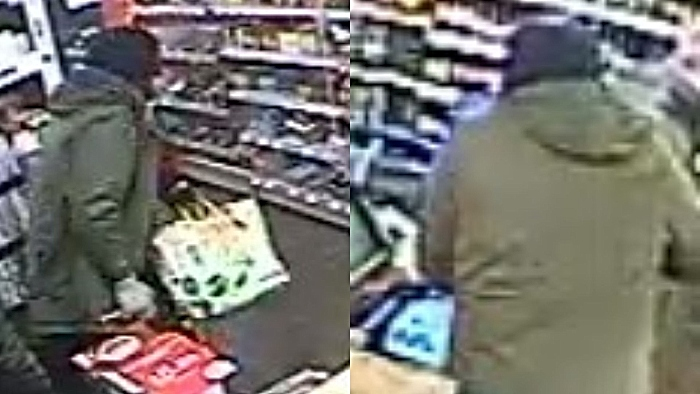 CCTV image of robber on January 4
