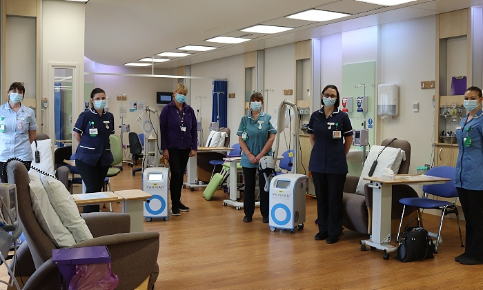 Scalp coolers - Mid Cheshire Hospitals
