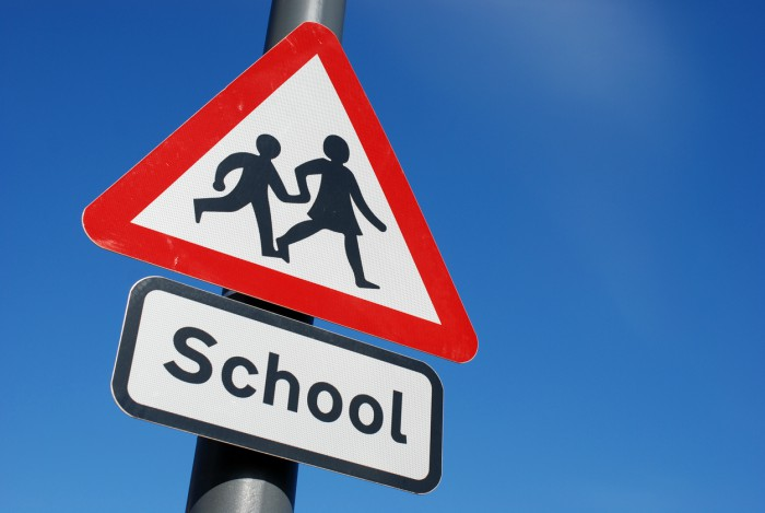 School transport - sign