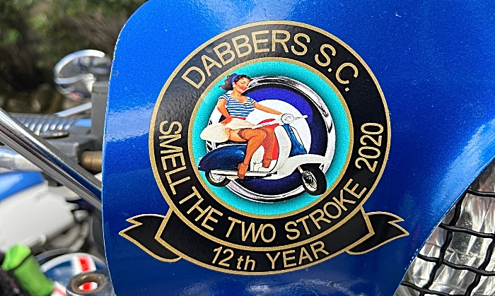 Scooter with 12th Smell The 2 Stroke 2020 logo (1)