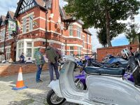 Dabbers Scooter Club returns to Nantwich