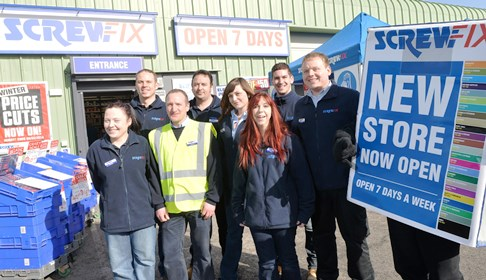 15 Nantwich jobs created by new Screwfix DIY store