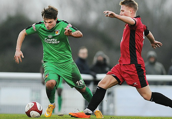 Sean Cooke, Nantwich Town v Mickleover Sports