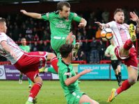 Nantwich Town heroes valiant in FA Cup defeat at League Two Stevenage