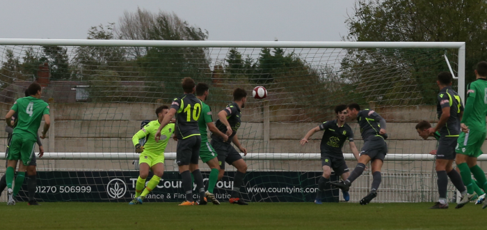 Sean Cooke's corner is flicked on by Sam Hall and put in to his own net by RobHopley (1-0)