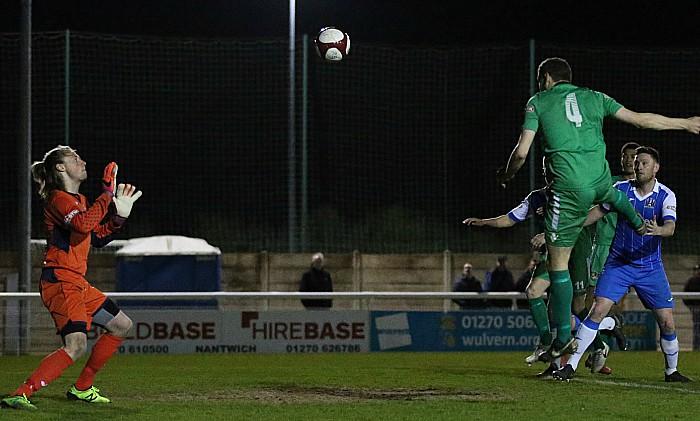 Second Nantwich goal - Joel Stair heads in