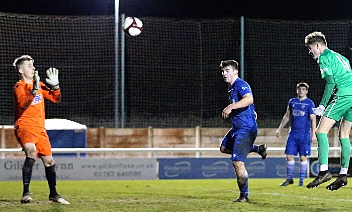 Second-half - 88' GOAL! Callum Parker scores his first senior goal for the Dabbers (1) (1)