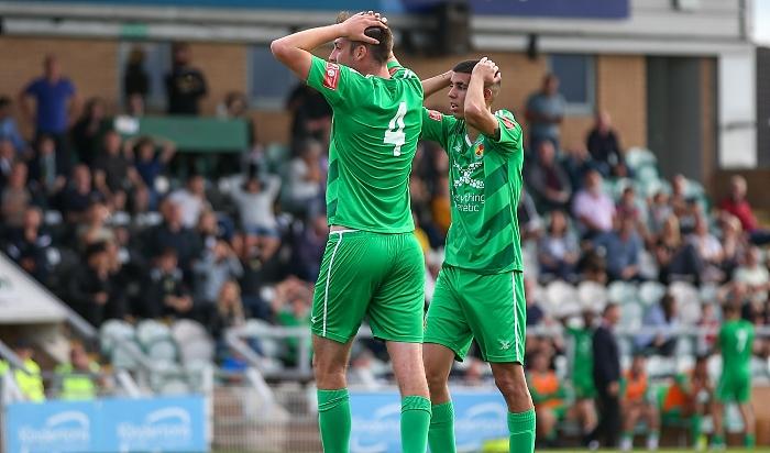 Second-half - Ben Harrison rues a late miss (1)
