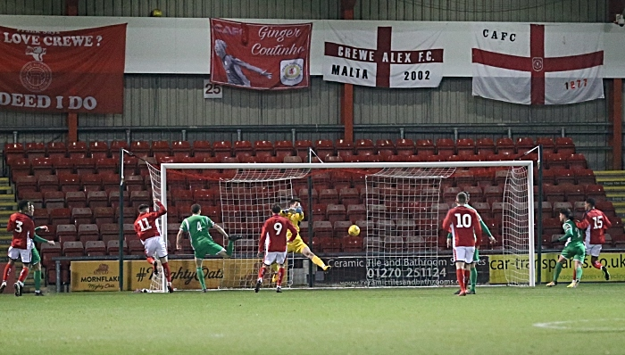 Second-half - Crewe Alex goal from No.11 Owen Dale (1)
