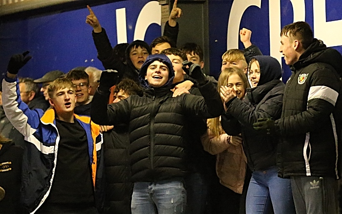 Second-half- Dabbers fans celebrate their clubs dominance (1)