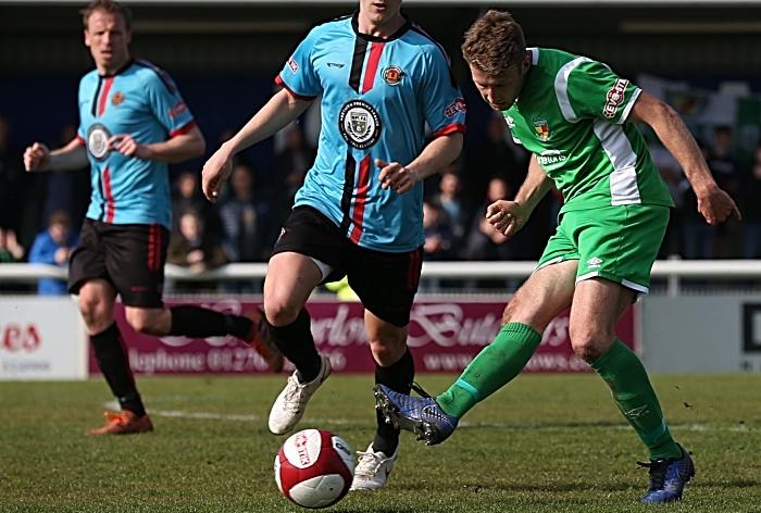 Second-half - James Lawrie passes the ball (1)