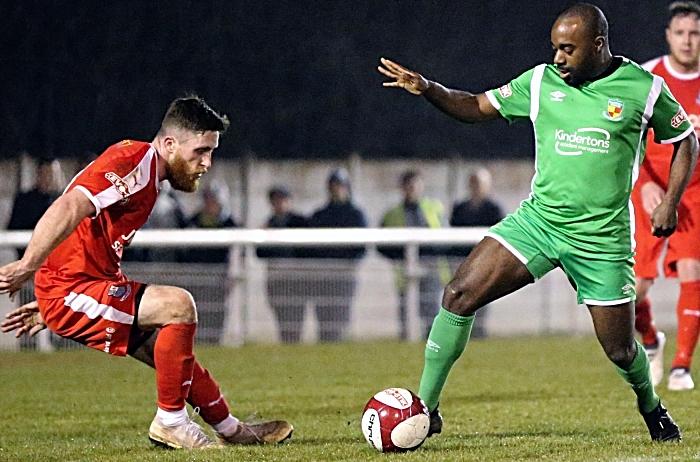 Second-half - Joe Mwasile on the ball (1) (1)