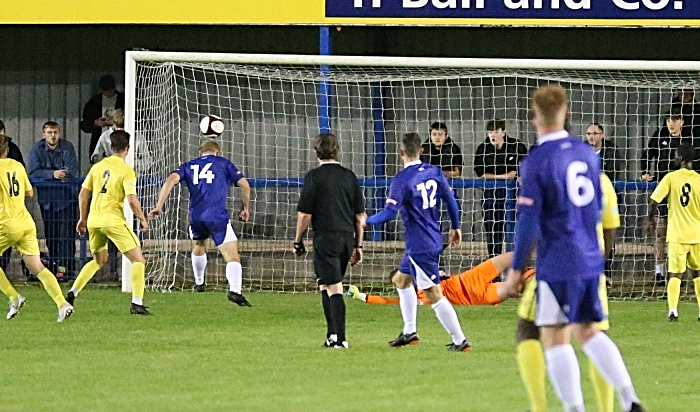 Second-half - Leek Town second and winning goal (1)