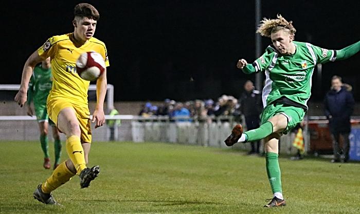 Second-half - Luke Walsh crosses the ball (1)
