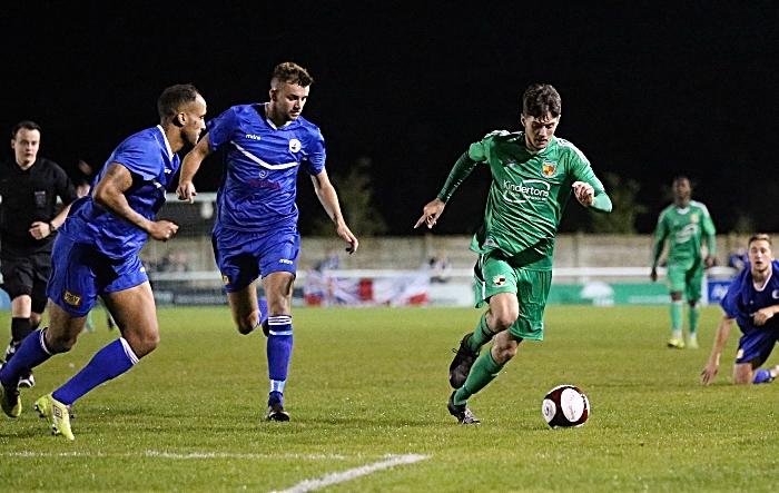 Second-half - Matthew Devine on the attack (1)
