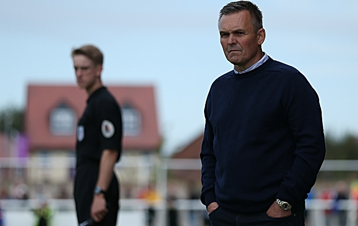 Second-half - Nantwich Town Manager Dave Cooke analyses the action (1)