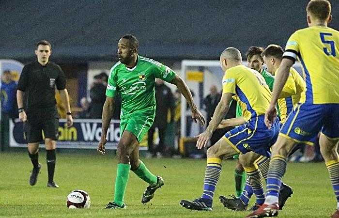 Second-half - Ricardo Fuller on the ball (1)