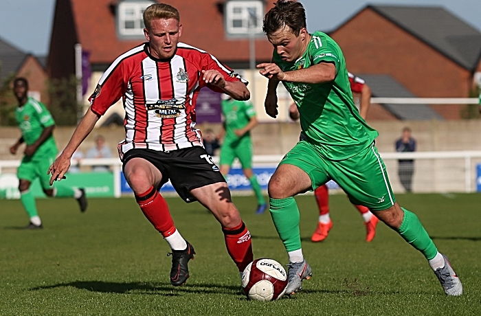Second-half - Sean Cooke on the ball (2) (1)