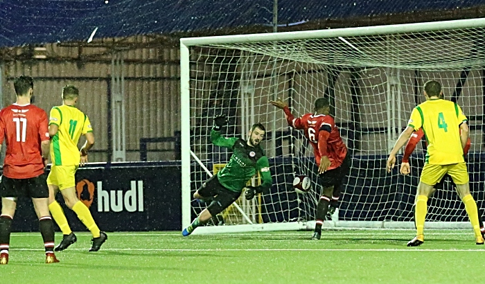 Second-half - Second Nantwich Town goal