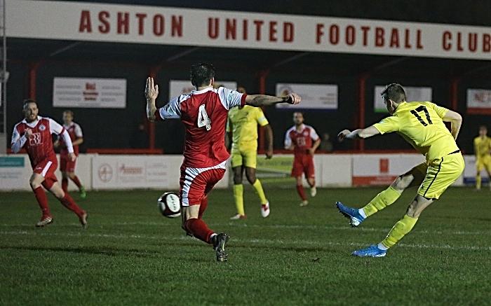 Second-half - Valdemar Schousboe attacks the goal (1)