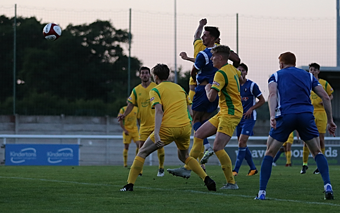 Second-half - a 90th minute winner for Salford from the head of Jake Beesley